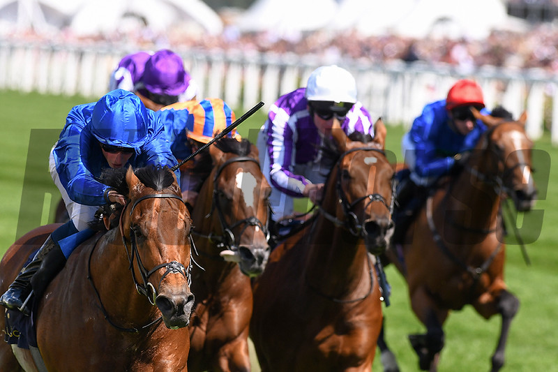 Old Persian, William Buick, win the G2 King Edward VII Stakes, Royal Ascot; Ascot Race Course; Ascot; UK; 6-21-18; Photo by Mathea Kelley