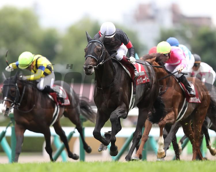 Sangraser wins 2018 Sapporo Kinen. Photo: Masakazu Takahashi