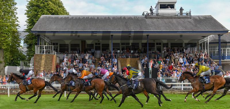 Racing Action, Windsor Race Course, Windsor, UK, 6-19-18, Photo by Mathea Kelley