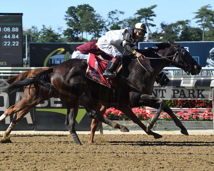 Limousine Liberal wins the 2018 Belmont Sprint Championship<br /> Coglianese Photos/Susie Raisher