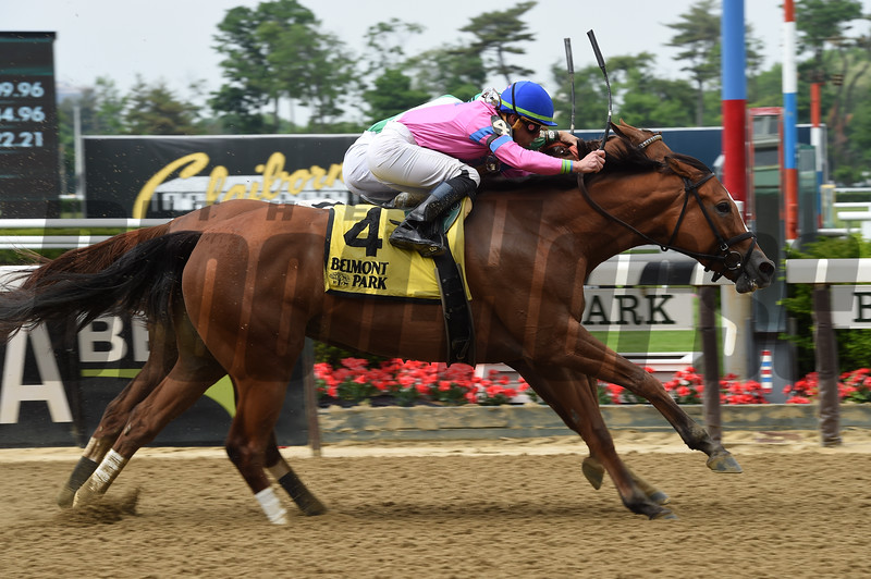 Holiday Disguise wins the 2018 Critical Eye Stakes<br /> Photo: Coglianese Photos/Susie Raisher