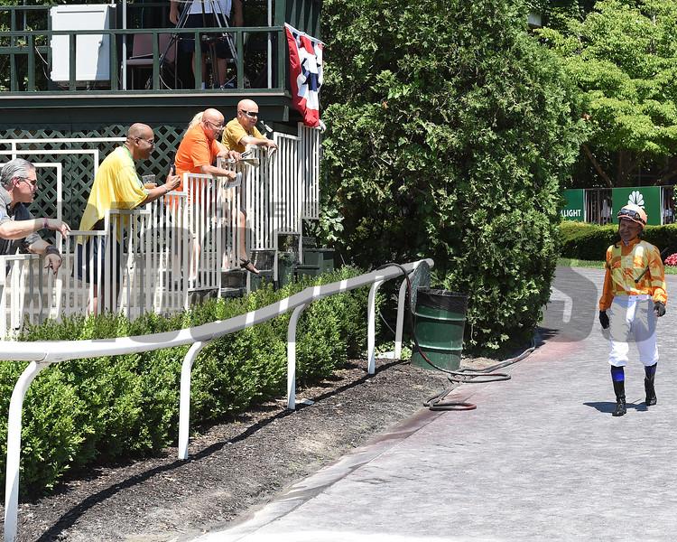 Mike Smith - Belmont Park - 063018. Photo: Coglianese Photos/Susie Raisher