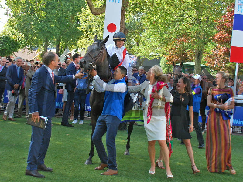 Nonza (FR); Alexis Badel; Darley prix Jean Romanet; G1; Deauville; August 19; 2018
