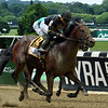 Still Having Fun with Joel Rosario win the 34th Running of the Woody Stephens (GI) at Belmont Park on June 9, 2018<br /> Dave W. Harmon