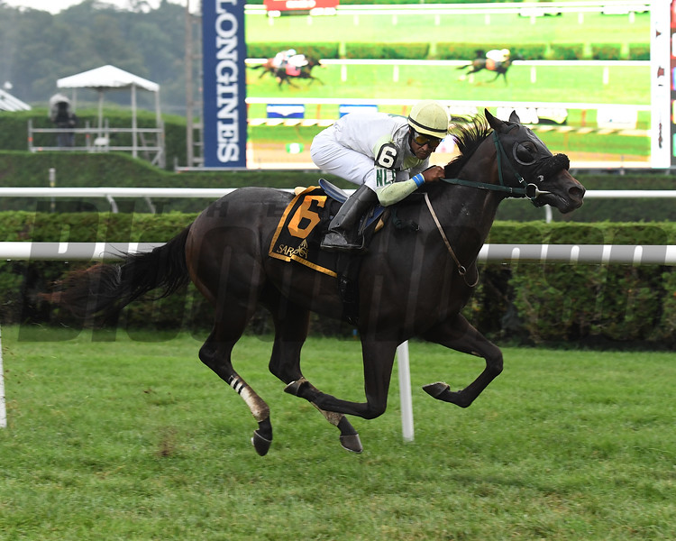 Chattel wins the 2018 Skidmore Stakes<br /> Coglianese Photos