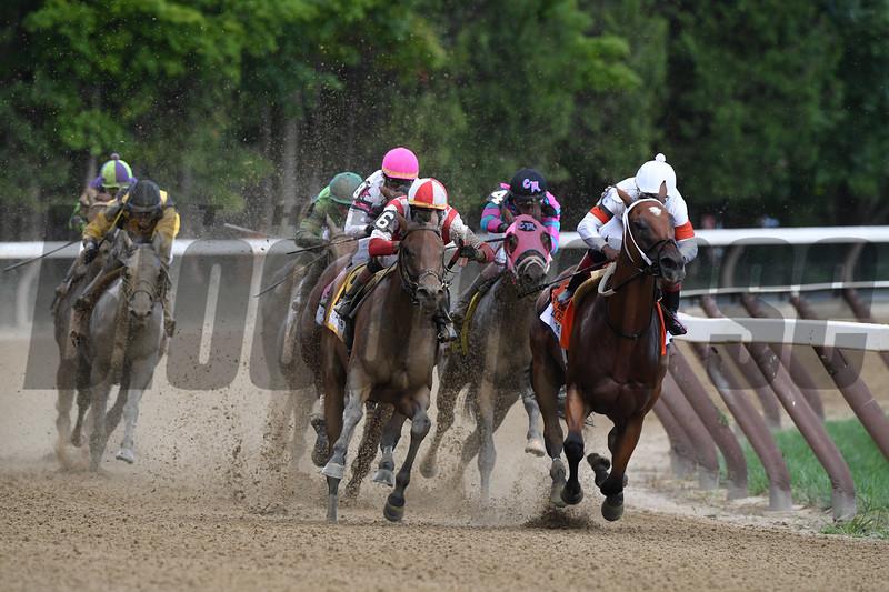 Separationofpowers; Jose Ortiz; Longines Test Stakes; G1; Saratoga Race Course; August 4; 2018<br /> Coglianese Photos/Robert Mauhar