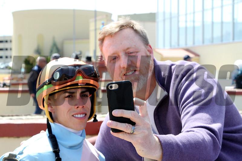 Irad Ortiz Jr. Selfie