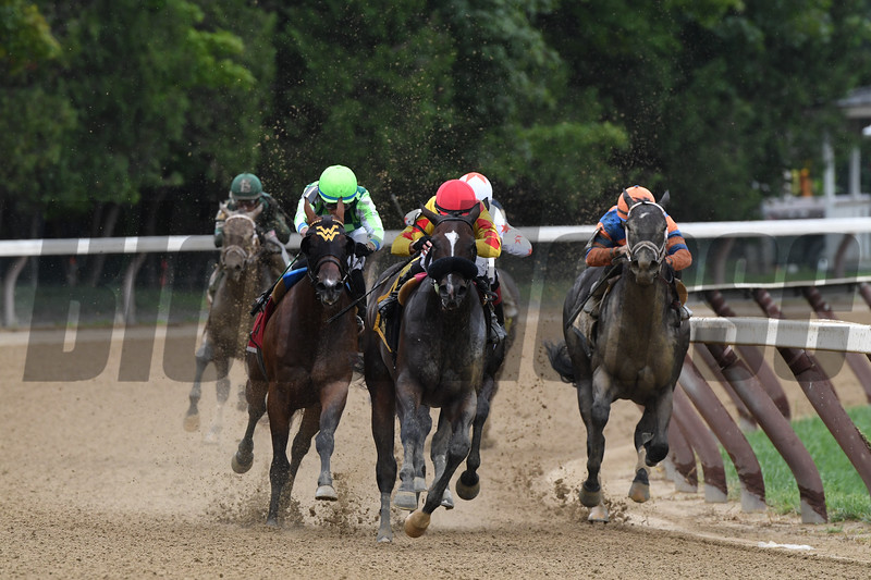 Sue's Fortune wins the 2018 Adirondack Stakes<br /> Coglianese Photos/Robert Mauhar