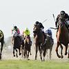 Gemonteer wins the Not Surprising Stakes at Gulfstream Park Saturday, July 7, 2018. Photo: Coglianese Photos/Leslie Martin