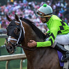 Will Call ridden to victory by Shaun Bridgmohan in the 24th running of the Twin Spires Turf Sprint at Churchill Downs May 4, 2018 in Louisville, KY Photo by Skip Dickstein