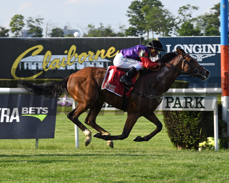 Call To Mind wins the 2018 Belmont Gold Cup Invitational<br /> Coglianese Photos/Viola Jasko