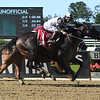 Limousine Liberal wins the Belmont Sprint Stakes Saturday, July 7, 2018. Photo: Coglianese Photos/Susie Raisher