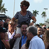 Coach Rocks; Luis Saez; Gulfstream Park Oaks; G2; Gulfstream Park; March 31 2018; Tammy Fox, Rick Pitino<br /> Dave W. Harmon Photo
