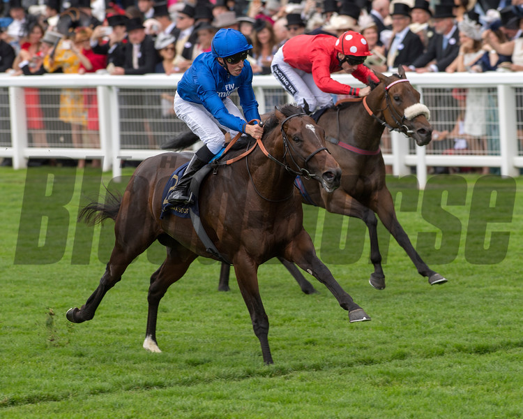Blue Point wins the Kings Stand Stakes at Royal Ascot June 19, 2018. Photo: Mathea Kelley