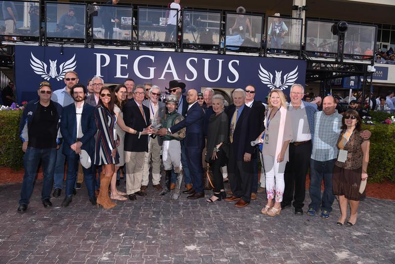 Jordan's Henny wins the 2018 Hurricane Bertie Stakes<br /> Coglianese Photos