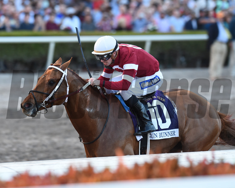 Gun Runner wins the 2018 Pegasus<br /> Coglianese Photos/Lauren King