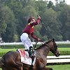Catholic Boy wins the 2018 Travers Stakes<br /> Coglianese Photos