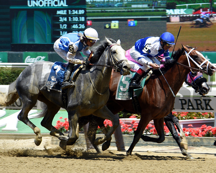 Prince Lucky with John Velazquez wins Easy Goer.<br /> Dave W. Harmon