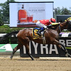 Abel Tasman wins 2018 Ogden Phipps Stakes under jockey Mike Smith at Belmont Park June 9, 2018. Photo: Coglianese Photos