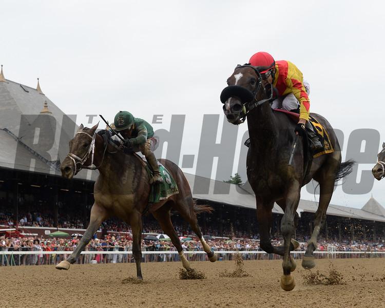 Sue's Fortune wins the 2018 Adirondack Stakes<br /> Coglianese Photos