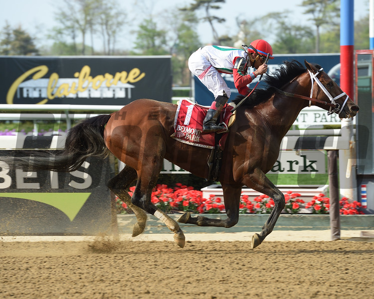 Hard Study wins the 2018 Flat Out Stakes<br /> Coglianese Photos