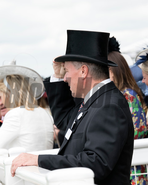 Trainer Wesley Ward, Royal Ascot, Ascot Race Course, Ascot, UK, 6-19-18, Photo by Mathea Kelley