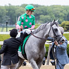 DISCO PARTNER wins The Jaipur Invitational at Belmont Park June 9th 2018, jockey Irad Ortiz Jr up