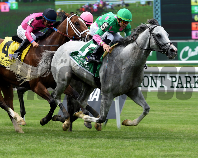 Disco Partner, Irad Ortiz Jr., Jaipur Invitational Stakes; G2T; Belmont Park; June 9; 2018