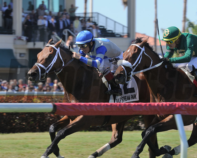 Maraud wins the 2018 Palm Beach<br /> Coglianese Photos/Kenny Martin