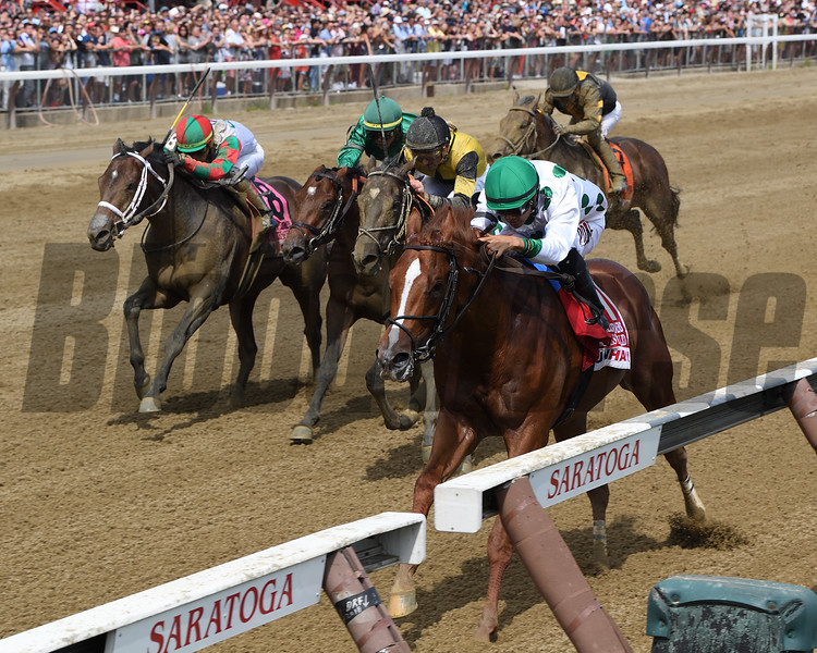 Promises Fulfilled wins the 2018 H. Allen Jerkens Stakes<br /> Coglianese Photos/Chelsea Durand