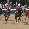 Tenfold wins the Jim Dandy Stakes at Saratoga Saturday, July 28, 2018. Photo: Coglianese Photos/Arianna Spadoni