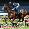 Hunting Horn, Ryan Moore, win the G3 Hampton Court Stakes, Royal Ascot,, Ascot Race Course, Ascot, UK, 6-21-18, Photo by Mathea Kelley