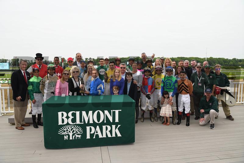 Joe Bravo, 2018 Mike Venezia Award, Belmont ark, May 28, 2018