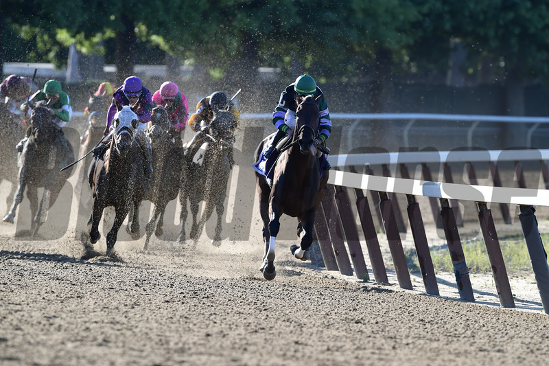Diversify, Irad Ortiz Jr., Suburban Stakes, G2, Belmont Park, July 7, 2018