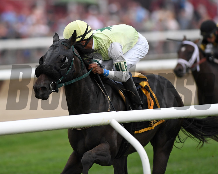 Chattel wins the 2018 Skidmore Stakes<br /> Coglianese Photos/Chelsea Durand