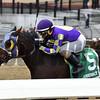 Hit It Once More wins the 2018 Haynesfield Stakes<br /> Coglianese Photos/Joe Labozzetta