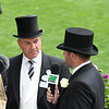 Trainer Wesley Ward, Royal Ascot,, Ascot Race Course, Ascot, UK, 6-20-18. Photo: Mathea Kelley