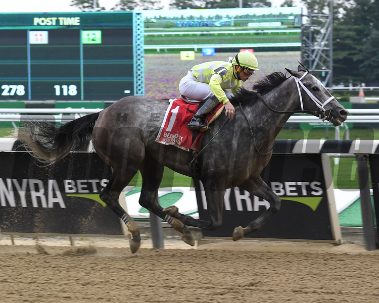 Sunny Ridge wins the 2018 State Dinner Stakes<br /> Coglianese Photos