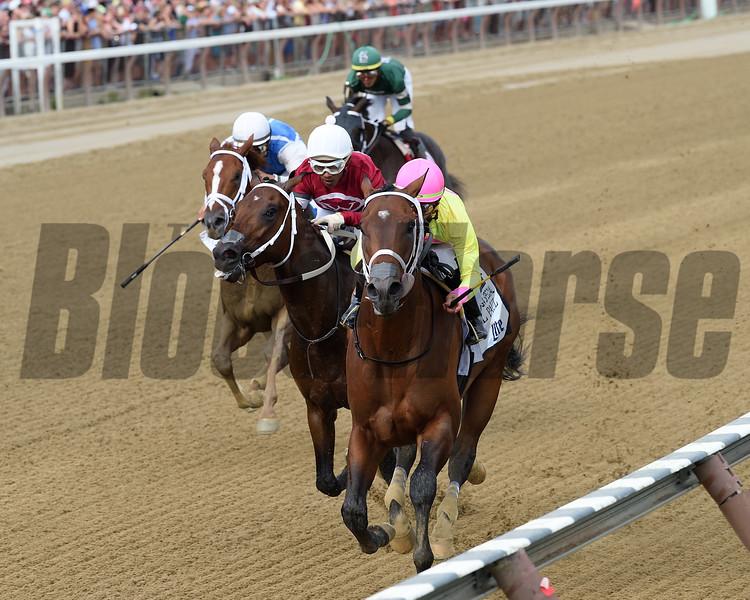 Call Paul wins the Saratoga Special Stakes Sunday, August 12, 2018. Photo: Coglianese Photos/Elsa Lorieul