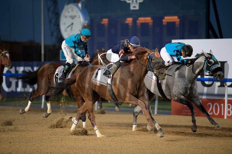 Mind Your Biscuits; Joel Rosario; Dubai Golden Shaheen; G1; Meydan Race Course; Dubai; March 31 2018