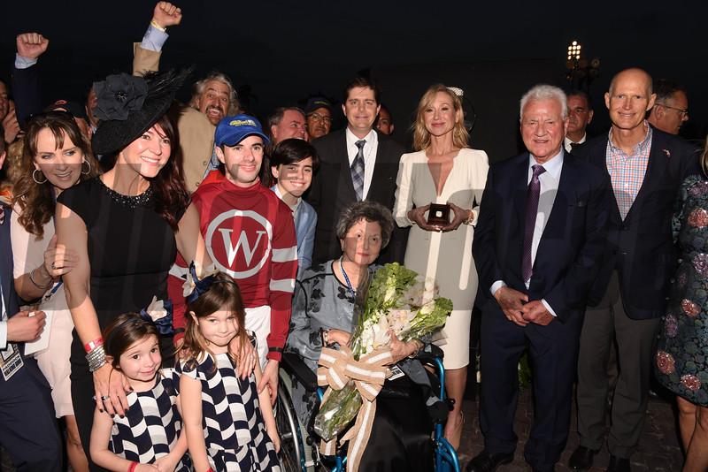Gun Runner wins the 2018 Pegasus<br /> Coglianese Photos