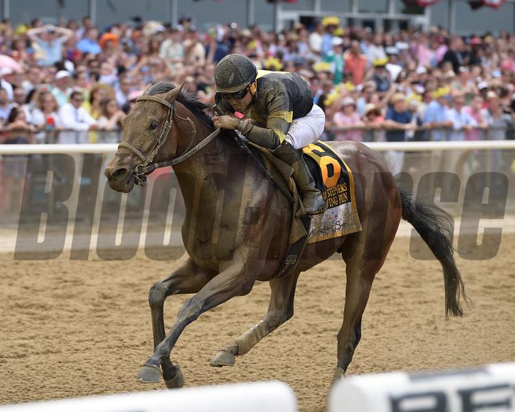 Still Having Fun wins 2018 Woody Stephens Stakes at Belmont Park June 9, 2018. Photo: Coglianese Photos/Joe Labozzetta