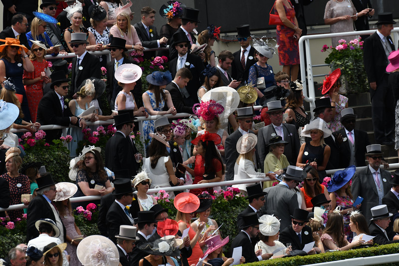 Royal Ascot; Ascot Race Course; Ascot; UK; 6-23-18; Photo by Mathea Kelley