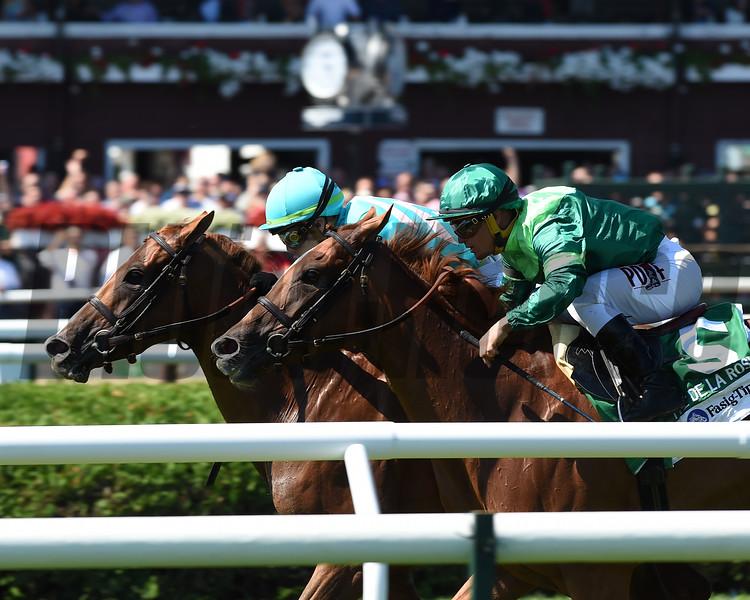 Uni (GB), Irad Ortiz Jr., Fasig-Tipton De La Rose Stakes, $100,000; Saratoga Race Course; August 4; 2018