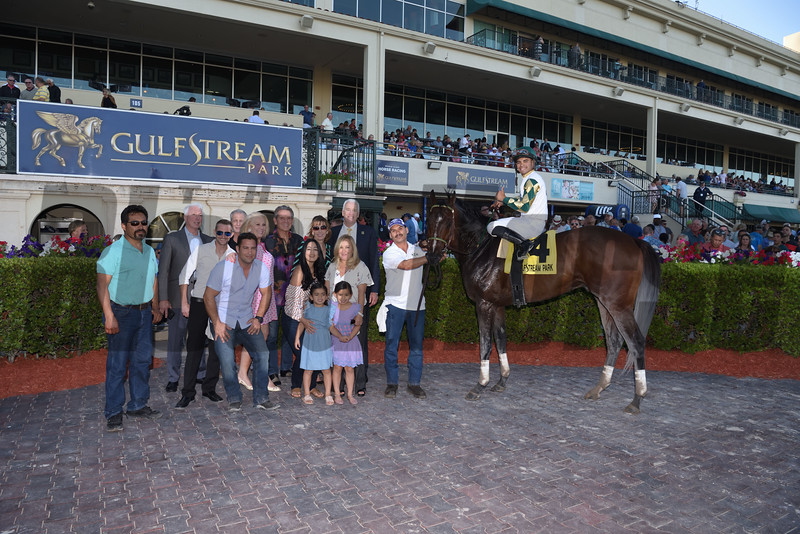 Classic Rock wins the 2018 Gulfstream Park Sprint Stakes<br /> Coglianese Photos