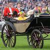Royal Procession, HRH The Queen, Royal Ascot, Ascot UK, 6/19/18, photo by Mathea Kelley