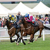 Lagostvegas, Andrea Atzeni, win the Ascot Stakes, Ascot Race Course, Ascot, UK, 6/19/18, photo Mathea Kelley