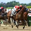 Hoppertunity wins 2018 Brooklyn Invitational Stakes at Belmont Park June 9, 2018. Photo: Coglianese Photo/Zoe Metz