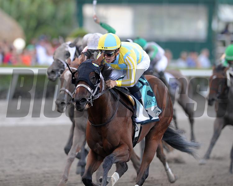 Capture Your Dream wins the 2018 FTBOA Florida Sire Desert Vixen Stakes<br /> Coglianese Photos/Kenny Martin
