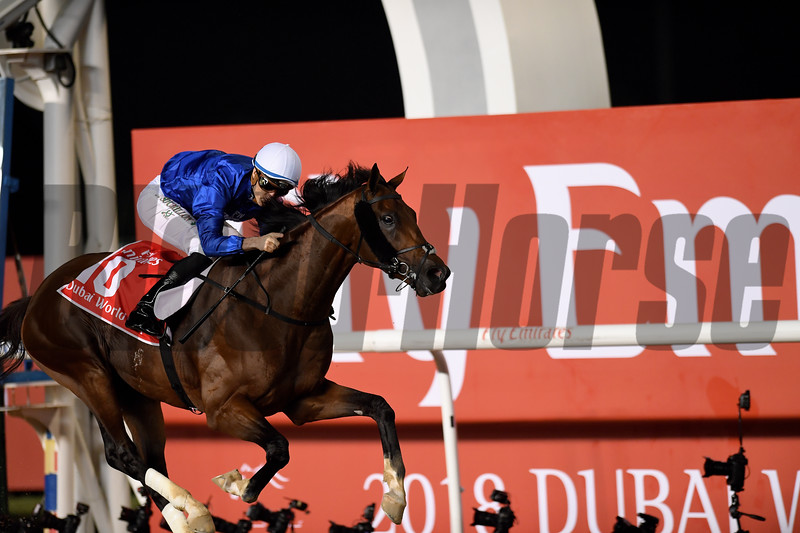 Thunder Snow (IRE); Christophe Soumillon; Dubai World Cup; G1; Meydan Race Course; Dubai; March 31 2018